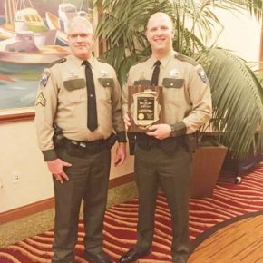 State's wildlife Officer of the Year is a people person, too