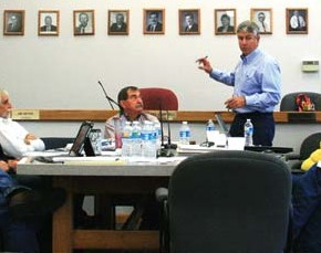 County commissioners hear about proposed land-transfer strategies