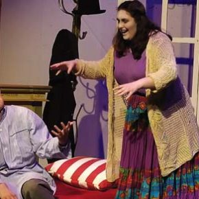 Scrooge meets Seuss at The Merc, then the fun starts to perk