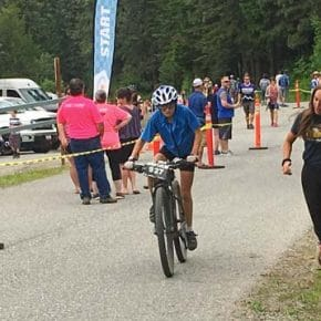 Scholz first at mountain bike championships