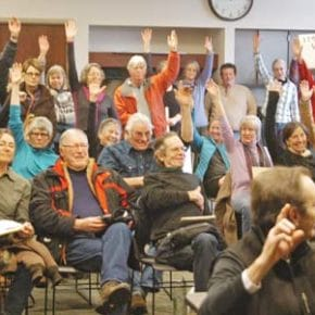 Indivisible groups in the valley stay active