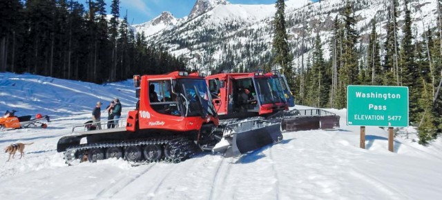 Low snowpack levels point to early opening for North Cascades Highway