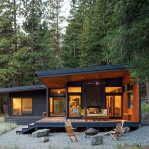 Prentiss + Balance + Wickline Architects wins award for Methow Valley cabin