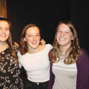 Van Marter captures first place in Poetry Out Loud competition