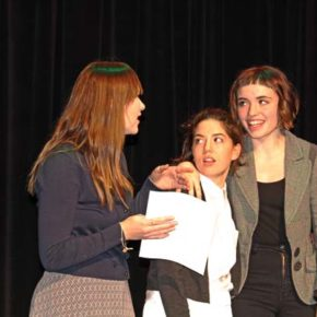 Stratman wins local Poetry Out Loud competition