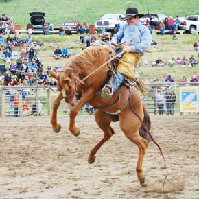 Methow Valley Rodeo comes out of the chute this weekend