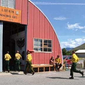 Free music festival staged to support smokejumper base