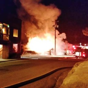 Pub fire investigation, insurance settlement in waiting mode