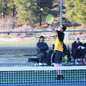 Tennis teams net many wins in a busy week