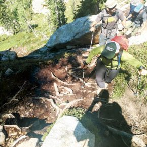 Improvements coming for Liberty Bell Mountain climbing trails