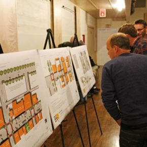Residents get a look at plans for Twisp's downtown