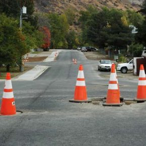Water system work, repaving nears completion in Twisp