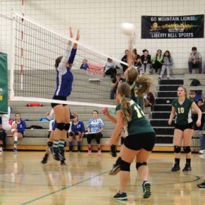 LBHS volleyball team stays close but edged by Soap Lake