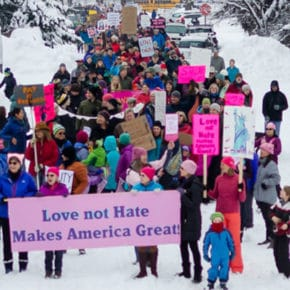 Methow well-represented at women's marches