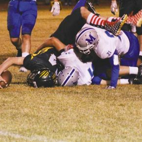 Manson keeps pressure on for 50-14 win over Mountain Lions