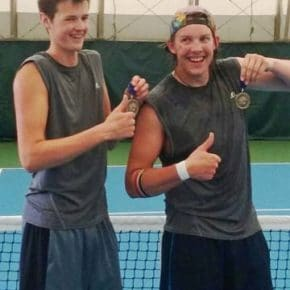 Liberty Bell sends doubles team to state tennis finals