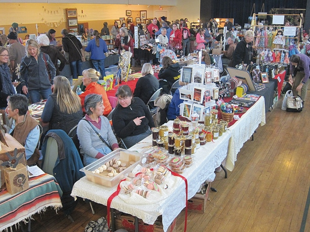 The first of two Christmas Bazaars opened to big crowds last weekend at the Methow Valley Community Center.