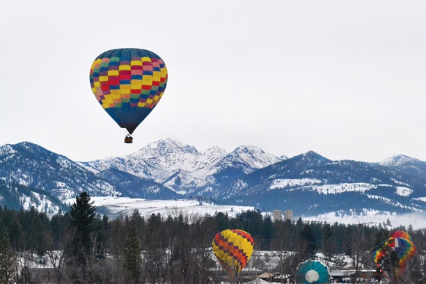 The annual Balloon Roundup drew 15 balloonists to the valley. Photo by Laurelle Walsh
