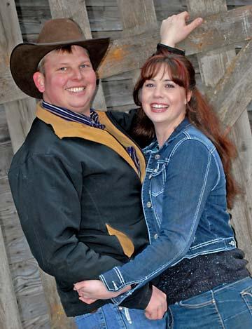 Garret Hammer and Amanda Taylor