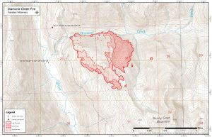Diamond Creek Fire Update For Wednesday July 26 Methow Valley News