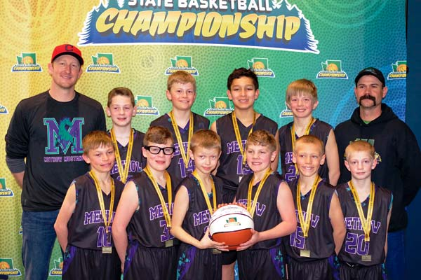 Mustangs take 1st at state AAU basketball tourney