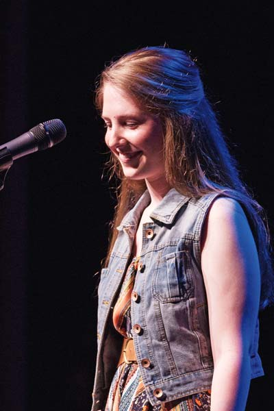 Photo courtesy of Jim Young Singer/songwriter Brittany Jean will perform a benefit concert in Twisp on Nov. 12.