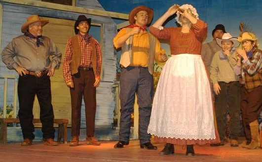 Photos by Ann McCreary Oklahoma! is packed with music, dancing and comedy.