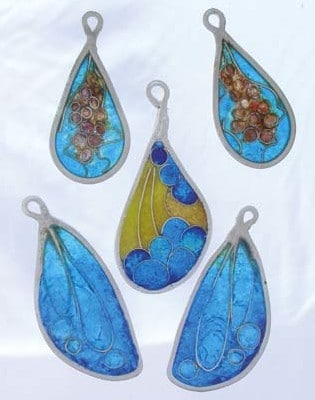 """Photo courtesy of Winthrop Gallery Earrings by Gloria Spiwak will be on display at the Winthrop Gallery during the exhibit """"Light."""""""