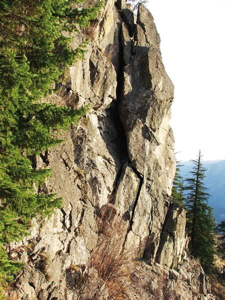 Photo by Brian Burdo The Matrix Climbing Wall is becoming more popular.