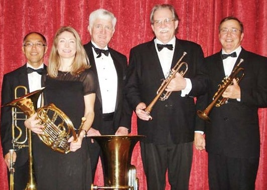Photo courtesy the Shafer Historical Museum The Thalia Brass Quintet is coming to Winthrop.